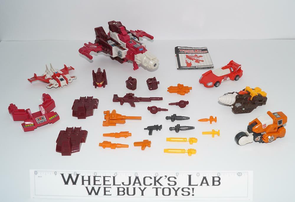Computron Menta 100% completo 1987 Vintage Hasbro G1 Transformers Figura De Acción