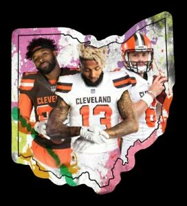 Details About Magnet Baker Mayfield Obj Jarvis Landry Cleveland Browns Player Custom Nfl