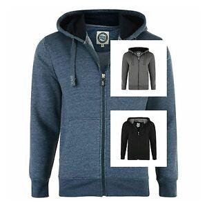 Men-039-s-Big-King-Size-Full-Zip-Up-Plain-Sweatshirt-Hoody-Top-Jacket-Size-2XL-8XL