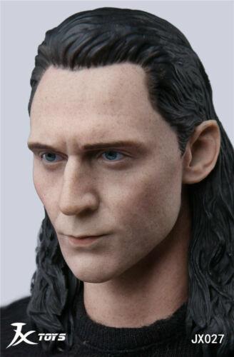 1//6 Loki Head Sculpt Avengers Tom Hiddleston For Hot Toys Worldbox Figure ☆USA☆