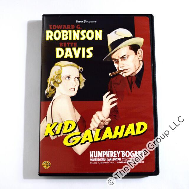 Kid Galahad DVD New Edward G Robinson Bette Davis Humphrey Bogart