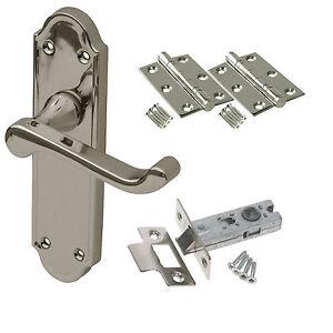 Sherborne Internal Door Handle Sets Latch Lock Bathroom Door ...