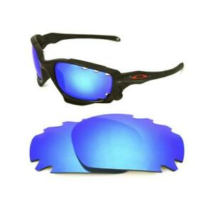 62de567f97 NEW POLARIZED VENTED ICE BLUE REPLACEMENT LENS FOR OAKLEY JAWBONE ...