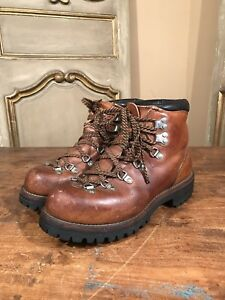 812be78db5b Details about Vintage Red Wing Irish Setter Mens Mountaineering Hiking  Climbing Boots Size 6.5