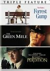 Tom Hanks Triple Feature R1 DVD Forrest Gump The Green Mile