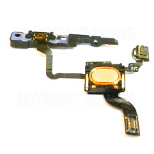 NEW GENUINE IPHONE 4 ON/OFF POWER BRACKET SENSOR FLEX COMPLETE + SPEAKER PART