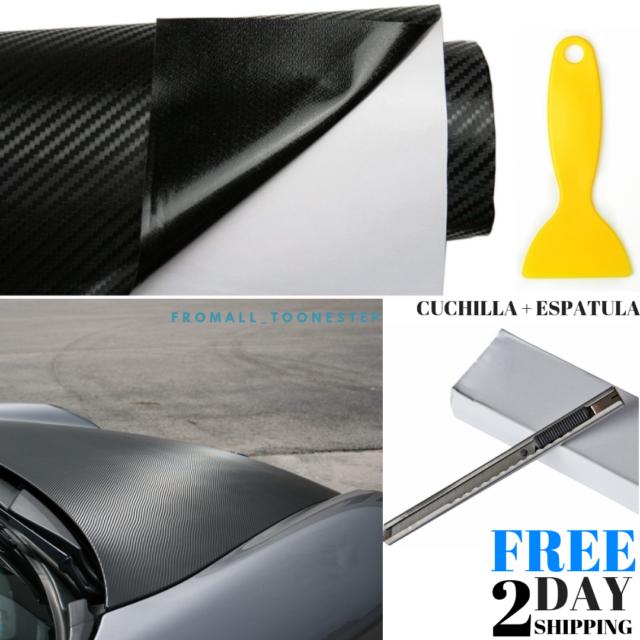Rollo de vinilo de fibra de carbono 3D LZLRUN para exterior calificado NEW