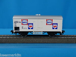 PRIMEX 4557 DB Reefer Car Langnese IGLO OVP