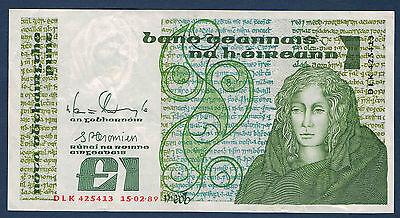 2019 Nieuwe Stijl Irlande - 1 Pound Pick N° 70d. Du 15-2-1989. En Sup Dlk 425413
