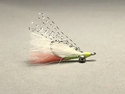 66 Flies SUPREME BONEFISH FLY SET WITH FLY BOX Saltwater Fly Fishing