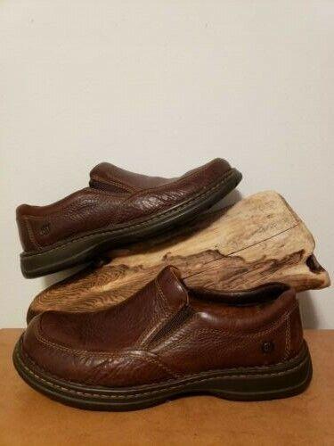 Men's Born Blast II MahoganyM6663 Size 12 Loafers Slip Slight Wear Dress Casual