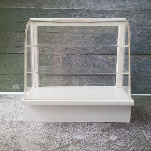 White Cake Display Cabinet Shelving Dollhouse Miniature Furniture Wholesale Lot