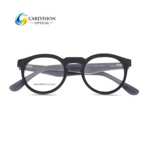 0a6ad672f29c3 Men Women Retro Oval Eyeglasses Frames Spring Hinge Glasses Frame RX ...