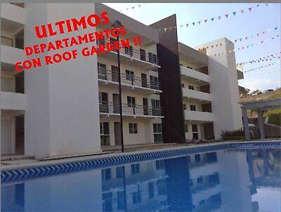 Departamentos con Alberca y Roof Garden Privado a 10 Min de Avenida Morelos