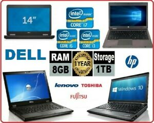 Details about CHEAP HP DELL LENOVO LAPTOP CORE i5 / i3 4GB/8GB RAM 500GB  HDD Wi-Fi WINDOWS 10