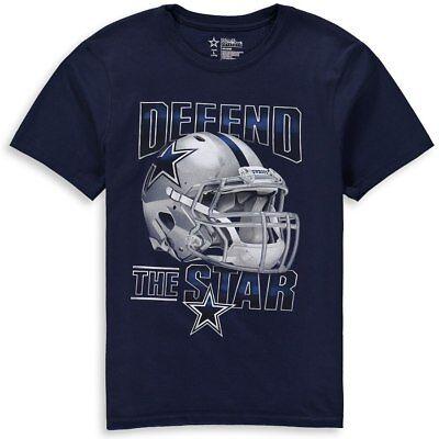 Dallas Cowboys T-Shirt Men/'s Fierce Helmet NFL DCM