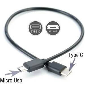 28cm-Type-C-USB-C-to-Micro-USB-Male-Sync-Charge-OTG-CHARGER-Cable-Cord-Adapter
