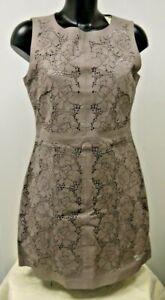 (STG) Warehouse Leather Dress Size 12