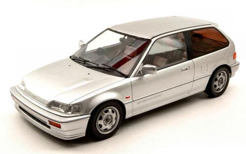 Honda Civic Ef3 Si 1987 Silver 1:18 Model TRIPLE 9