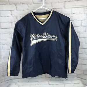 0428c2244 Notre Dame Jacket Fighting Irish Pullover Men's XL Steve and Barrys ...