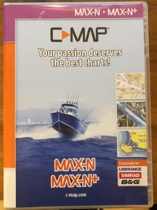 Elektronisk Søkort, C-Map Max-N/Max-N+