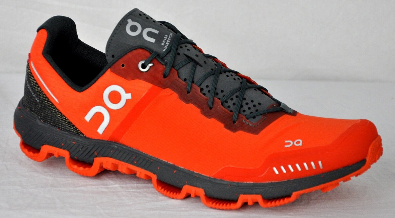 ON Men's Cloudventure Peak Trail Running Gym shoes 14.1464 Flame Shadow Size 8.5