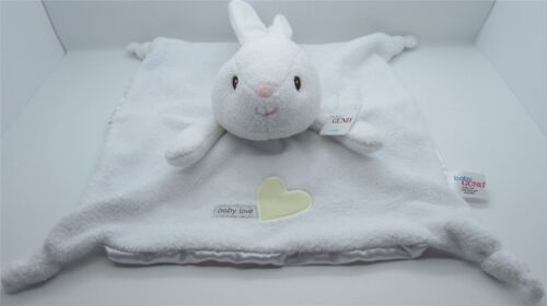 Suitable From Birth Satineesnug NEW Baby Gund Rabbit Snuggle Comfort Blankie