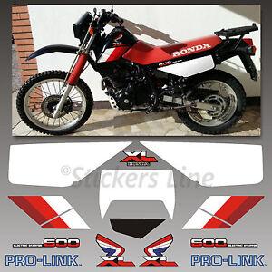 Kit-adesivi-Honda-XL-600-RM-1986-90-stickers-xl-600rm-mod-Nero-decal-xl600rm