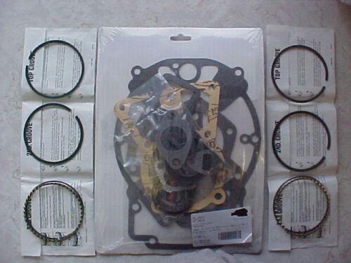 Gasket set and standard rings fits Kohler KT19 and Kt17 and M18 engine rebuild