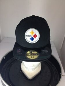 928f971bcf1fbf Image is loading Pittsburgh-Steelers-New-Era-59FIFTY-ONFIELD-Fitted-Hat-