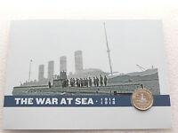 2015 First World War 100th Anniversary Royal Navy BU £2 Two Pound Coin Folder
