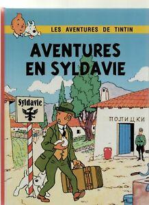 AVENTURE-EN-SYLDAVIE-Version-noir-amp-blanc-mise-en-couleurs-du-SCEPTRE-D-039-OTTOKAR