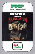 Dracula Versus Frankenstein DVD Hardbox Cover A Film Art Paul Naschy