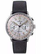 Junghans Meister Telemeter Chronograph Matte-Silver Dial Numerals 027/3380 Auto