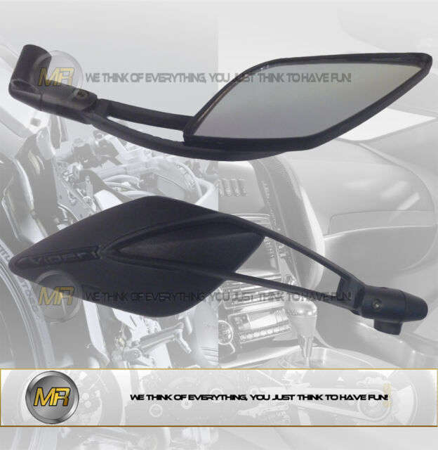 FOR SUZUKI GS 500 E 1990 90 PAIR REAR VIEW MIRRORS E13 APPROVED SPORT LINE