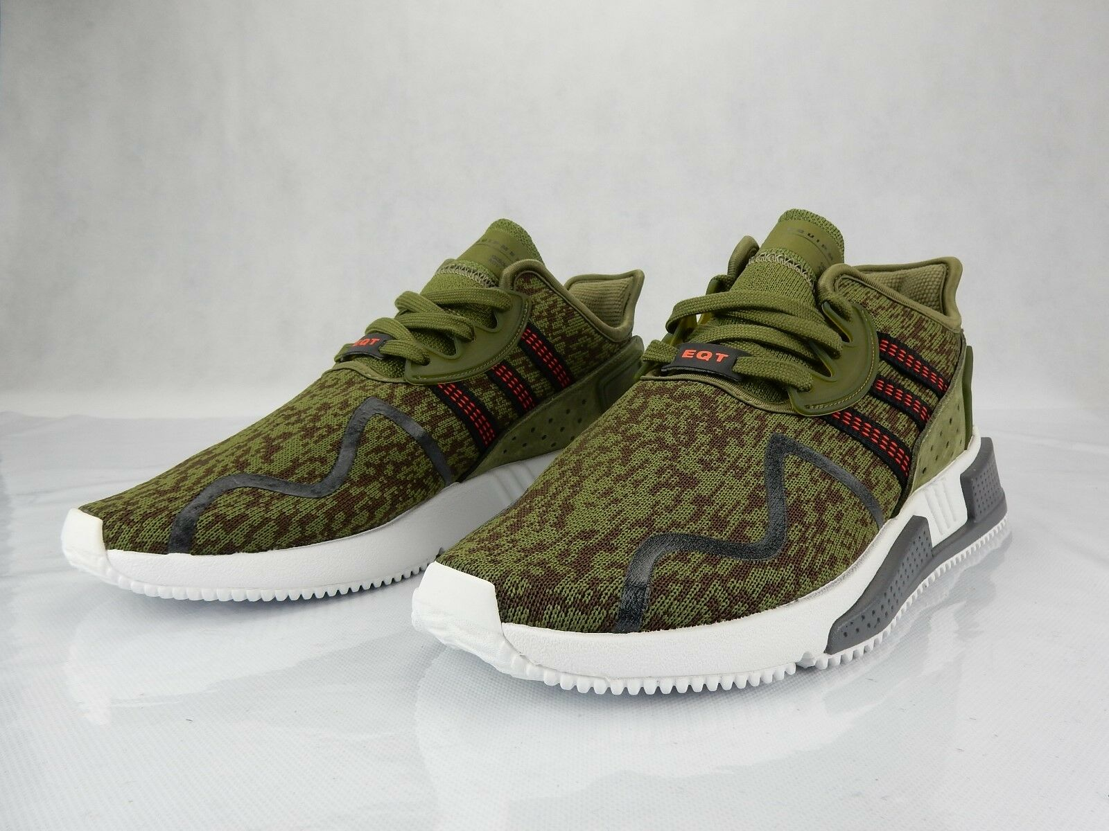 Adidas EQT Cushion Adv Olive Camo Brown AC7722 Mens Shoe s Comfortable