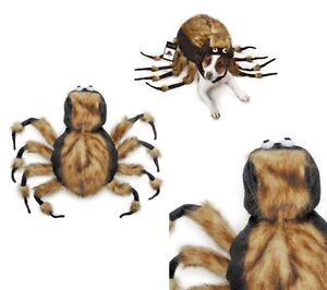 Image is loading Fuzzy-Tarantula-Spider-Dog-Costume-Dress-Your-Pup-  sc 1 st  eBay & Fuzzy Tarantula Spider Dog Costume Dress Your Pup As Your Favorite ...