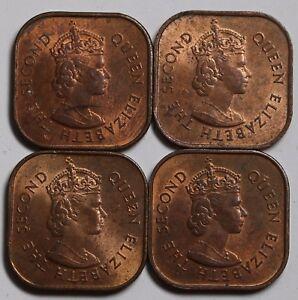 1957 Malaya /& British Borneo 1 Cent KM# 5-4 EF-AU Coins