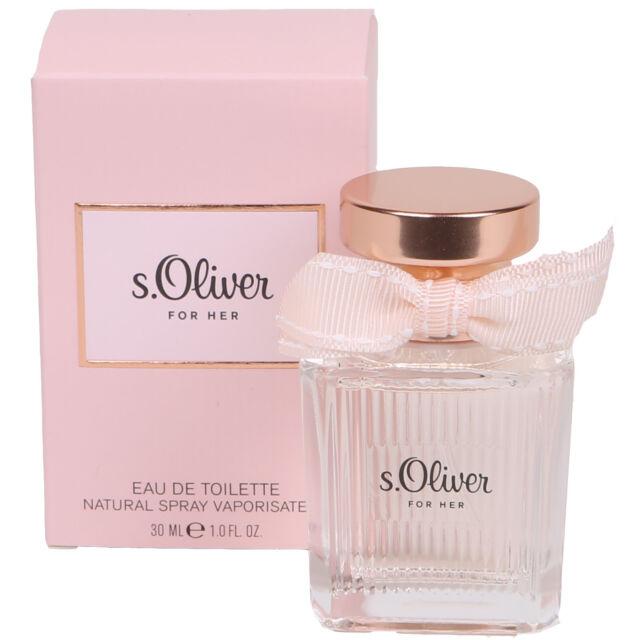 online hier viele Stile professioneller Verkauf S.Oliver for Her Eau de Toilette EDT 1oz for Woman