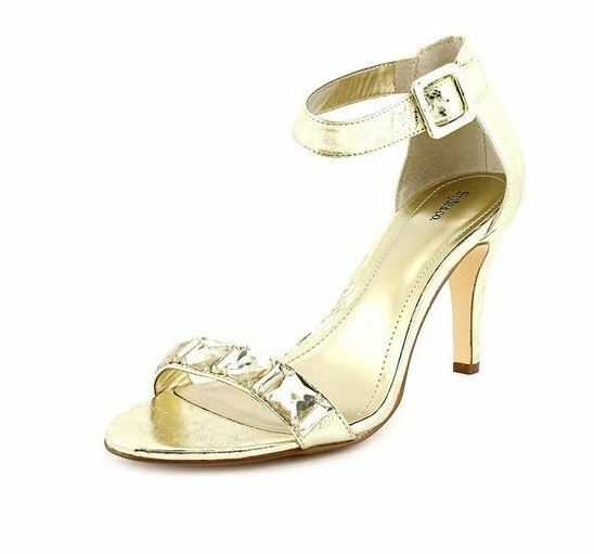 Style & Co Women's shoes Tylda Sandals gold 8M