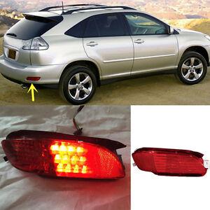 For Lexus Rx330 Rx350 Rx400h Red Lens Rear Bumper