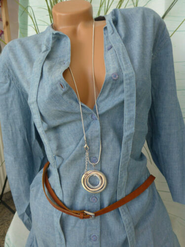 939 Denim Dress Dress Tom Tailor Jeans Ladies Size 34 to 46 Blue New