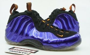 pretty nice 3f2b6 8086d Details about NIKE AIR FOAMPOSITE ONE NEW SIZE 15 PHOENIX SUNS PURPLE  ORANGE BLACK 314996 501