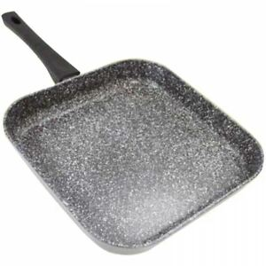 Stonewell Square Grill Granite Effect Non Stick Fry