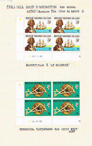 Solomon-Is-Collection-2-Sets-of-1972-BLKS-4-SC-248-253-SG-234-239-MNH-19