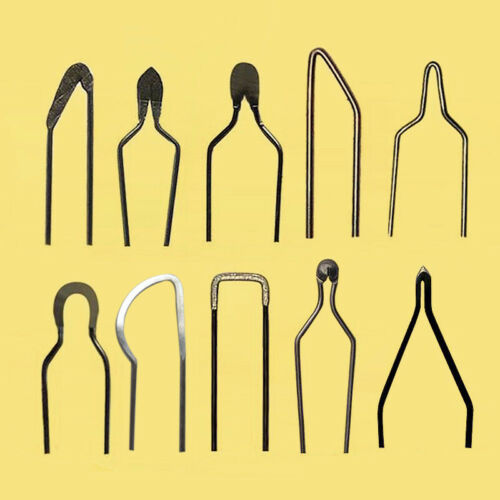 Pyrography Wire Tips//Nibs  for 50W Adjustable Woodburning Machine 10Pcs//Set