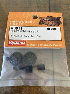 Kyosho MB011 MB-010 Pinion & Spur Gear Set