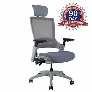 Clatina Ergonomic 3d Headrest Home Office Chairs Desk Computer Swivel Executive Ebay