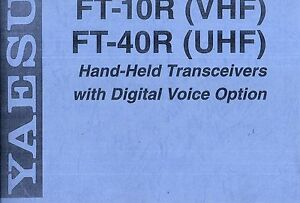 NEW Yaesu FT-100D Operating Manual Book in English