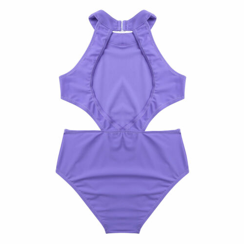 UK Girls Kids Ballet Leotard Gymnastics Dancewear Tutu Skirt Jumpsuit Costume